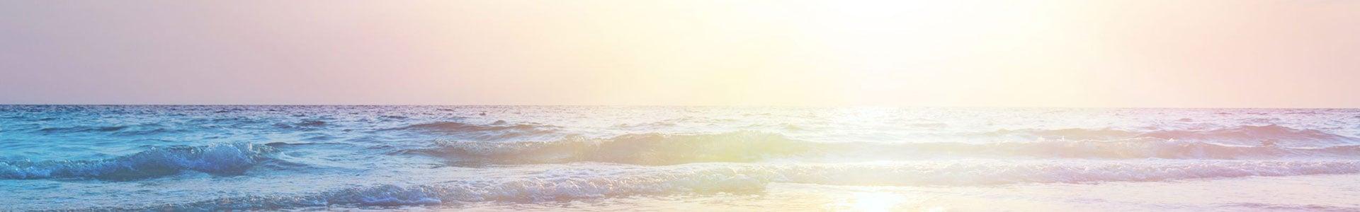 sunrise at sea on beach