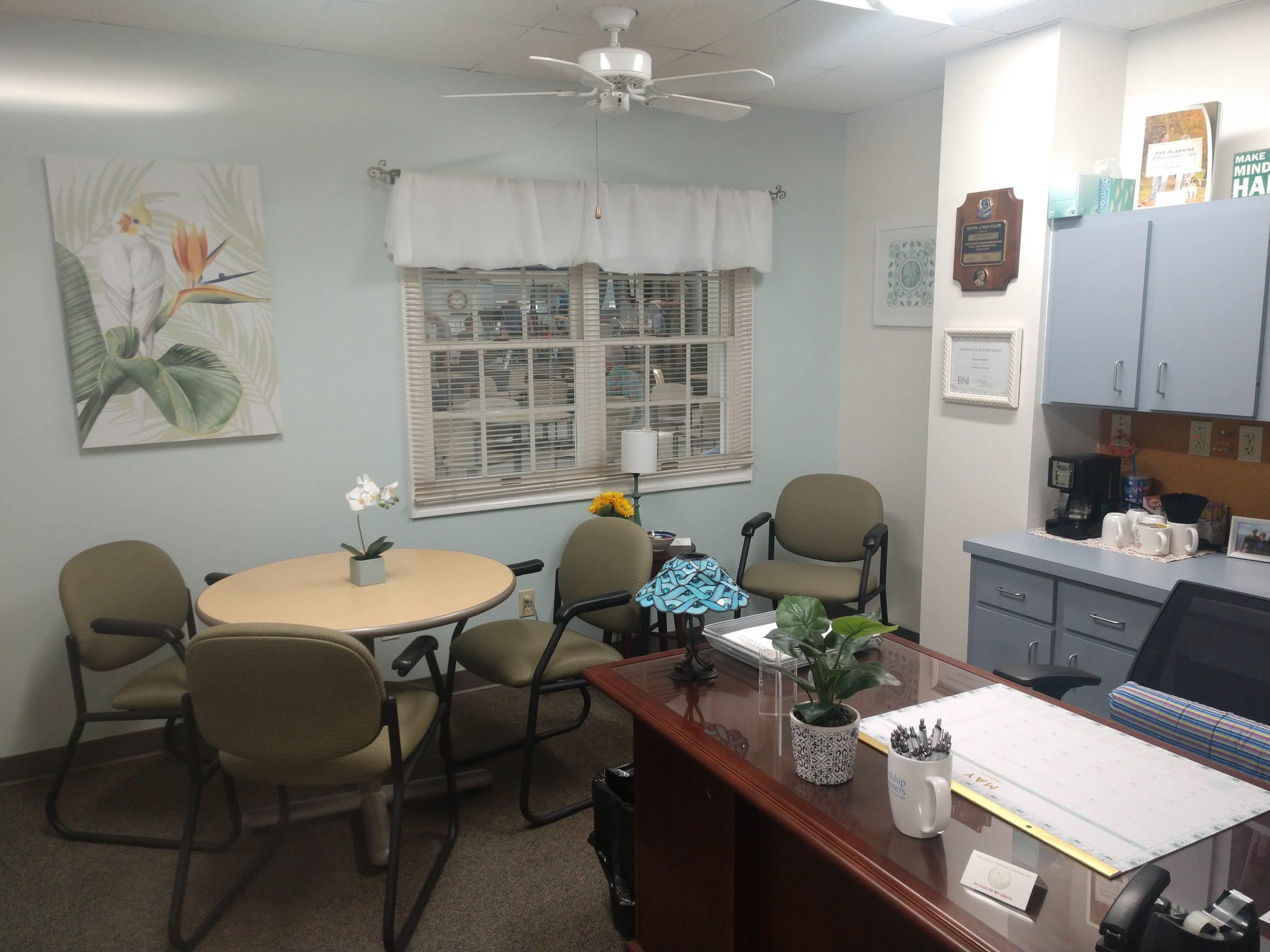 Coastal Cremations Florida - Sarasota Arrangement Office Located Inside the Senior Center